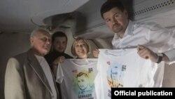 Возвращение Геннадия Афанасьева и Юрия Солошенко в Украину, 14 июня, 2016 год