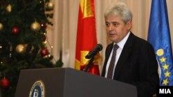 Али Ахмети, претседател на Демократската унија за интеграцијa.