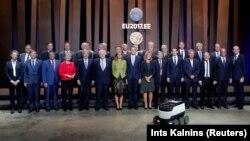 Міністри закордонних справ країн ЄС на неформальній зустрічі у Таллінні, 7 вересня 2017 року