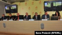 Konferencija za medije u Podgorici