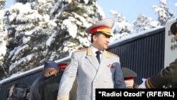 Генерал Абдуҳалим Назарзода, муовири вазири дифои Тоҷикистон.