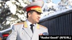 Тажикстандагы соңку чабуулдарга айыпталып жаткан генерал Абдухалим Назарзода.
