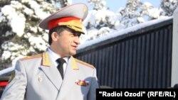 Абдухалим Назарзода, тажик коргоо министринин мурдагы орун басары.