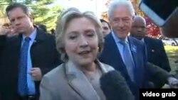 Clinton: Mnogi računaju na pozitivan ishod