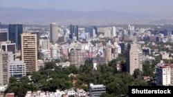 Տեսարան Մեքսիկայի մայրաքաղաք Մեխիկոյից