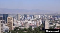 Pamje nga kryeqyteti Meksiko Siti