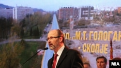 Архивска фотографија, градоначалник на Скопје Коце Трајановски