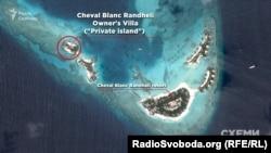 Острів, на якому відпочивав Порошенко з супутниками