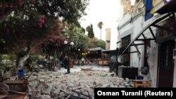Insula Kos afectată de cutremur