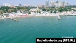 Відомий одеський пляж Аркадія