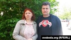 Вольга і Сяргей Верамеенкі