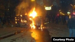 Armenia -- Post-Election Violence in Yerevan, March 1, 2008