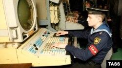 """""""Адмирал Кузнецов"""", автоматизированное рабочее место динамической воздушной обстановки, 11 октября 20018 года"""