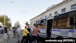 Акцыя РЧСС у Менску 20 ліпеня 2011