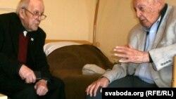 Барыс Кіт (справа), Яўген Мурашка, фота Кастусь Жукоўскі