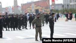 Parade in Grozny