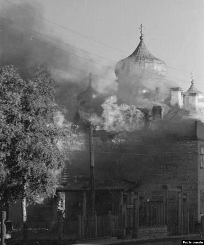 1941 год, Петрозаводск горит