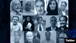 از چهارده امضاکننده بیانیه علیه رهبر ایران، تاکنون دو نفر بازداشت شدهاند.