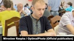 Чемпіон світу та Європи з шашок, українець Юрій Анікєєв