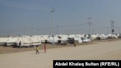 مخيم للنازحين في ضواحي دهوك