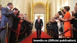 Инаугурация Владимира Путина 7 мая, 2012