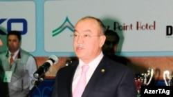 Azerbaijan -- Minister of Emergency Situations Kemaleddin Heydarov, Baku, 30Oct2010