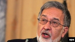 Afghan Foreign Minister Zalmai Rasul (file photo)