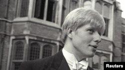 """Борис Джонсън студент в """"Оксфорд"""""""