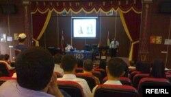جانب من ورشة العمل الطبية التي أقامتها منظمة (IRD) في دهوك