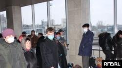 «Donuz qripi» Ukraynada. Kiyev, 3 noyabr 2009