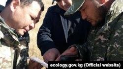 Егерей обучают работе с GPS-навигаторами.