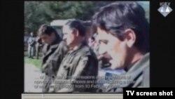 Snimak prikazan u sudnici, Pelemiš i Krstić pred odredom 1995.godine