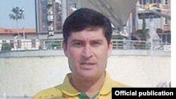 Ораз Назаров, новый главный тренер молодежной сборной Таджикистана по футболу до 19 лет.