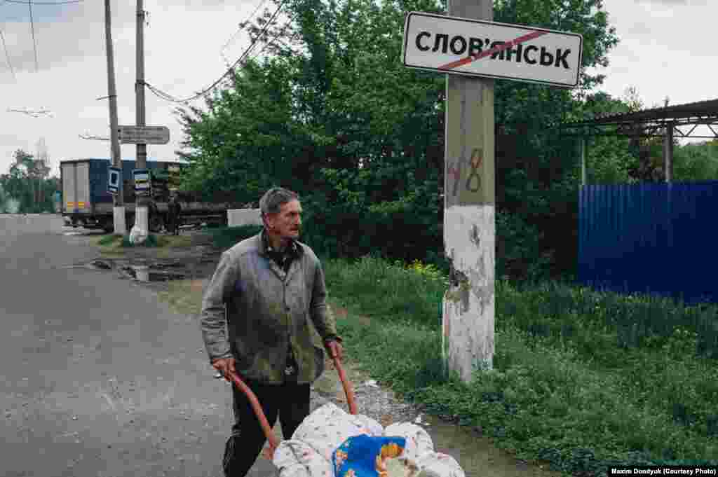 Славянск. 5 мая 2014 года.