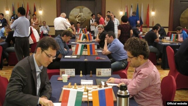 Armenia takes on Hungary at the 8th World Team Chess Championship in China on July 24.