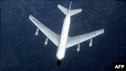An RC-135 surveillance aircraft (file photo)