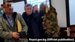 Адамкул Жунусов после экстрадиции. Бишкек, 28 декабря 2018 года.
