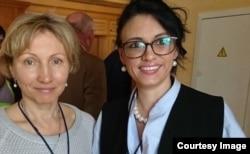 Марина Литвиненко и Ольга Литвиненко