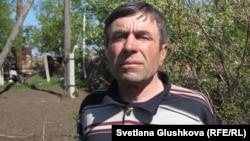Григорий Ткаченко, бывший лесник и житель села Бектау Акмолинской области. Май, 2012 год.