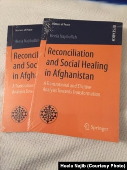 Heela Najibullah's book, Reconciliation and Social Healing in Afghanistan.