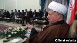 هاشمی رفسنجانی در دیدار با حزب «اراده ملت ایران»