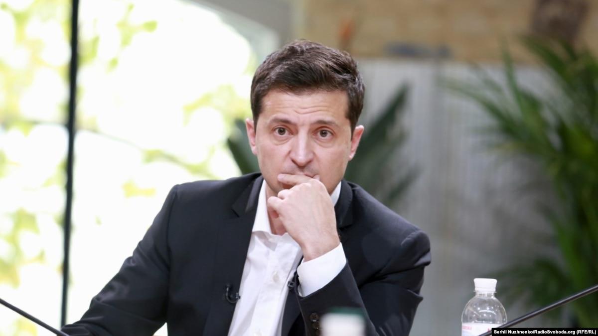 Зеленский уехал в Заблуждение с семьей – Офис президента