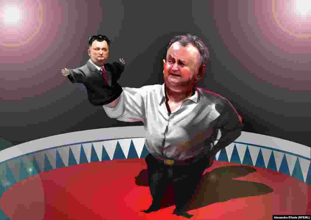 Igor Dodon opozantul de astăzi se confruntă cu Igor Dodon guvernantul de odinioară.