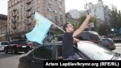 Автопробег в Киеве, архивное фото
