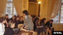 Під час проведення соціального форуму у Львові, 24 жовтня 2008 р.