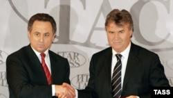 Виталий Мутко и Гуус Хиддинк предрекают России большие футбольные перспективы