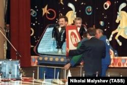 Зйомки програми «Поле чудес», 1992 рік
