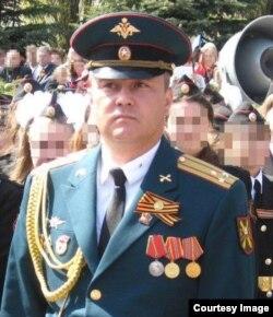 Командир 53-й зенитно-ракетной бригады Сергей Мучкаев