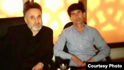 Умарали Куватов (слева) и Сулаймон Каюмов, которого теперь подозревают в причастности к убийству оппозиционера.