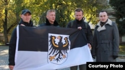 Активисты группы БАРС